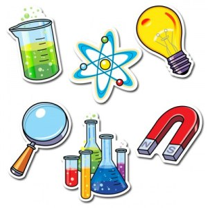 science Cartoon Logo
